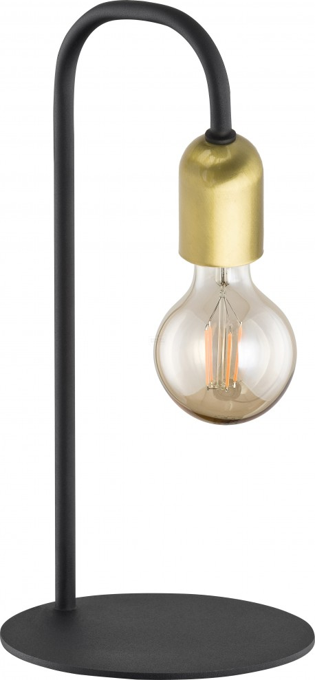 TK LIGHTING LAMPA BIURKOWA ESTRELLA BLACK
