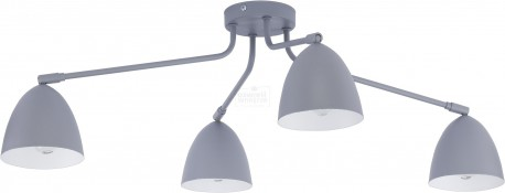 TK LIGHTING LAMPA SUFITOWA LORETTA GRAY NIKIEL MAT