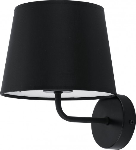 TK LIGHTING KINKIET MAJA BLACK CZARNY