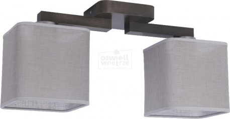 TK LIGHTING LAMPA SUFITOWA NADIA GRAY NIKIEL MAT